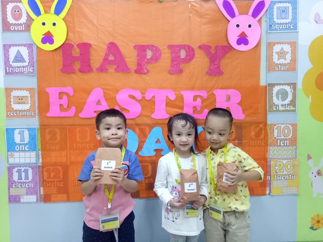 Merayakan Hari Paskah saint monica school jakarta